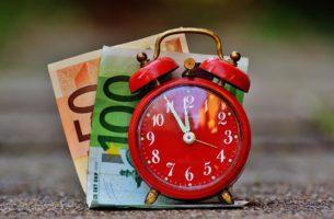 tempo e dinheiro